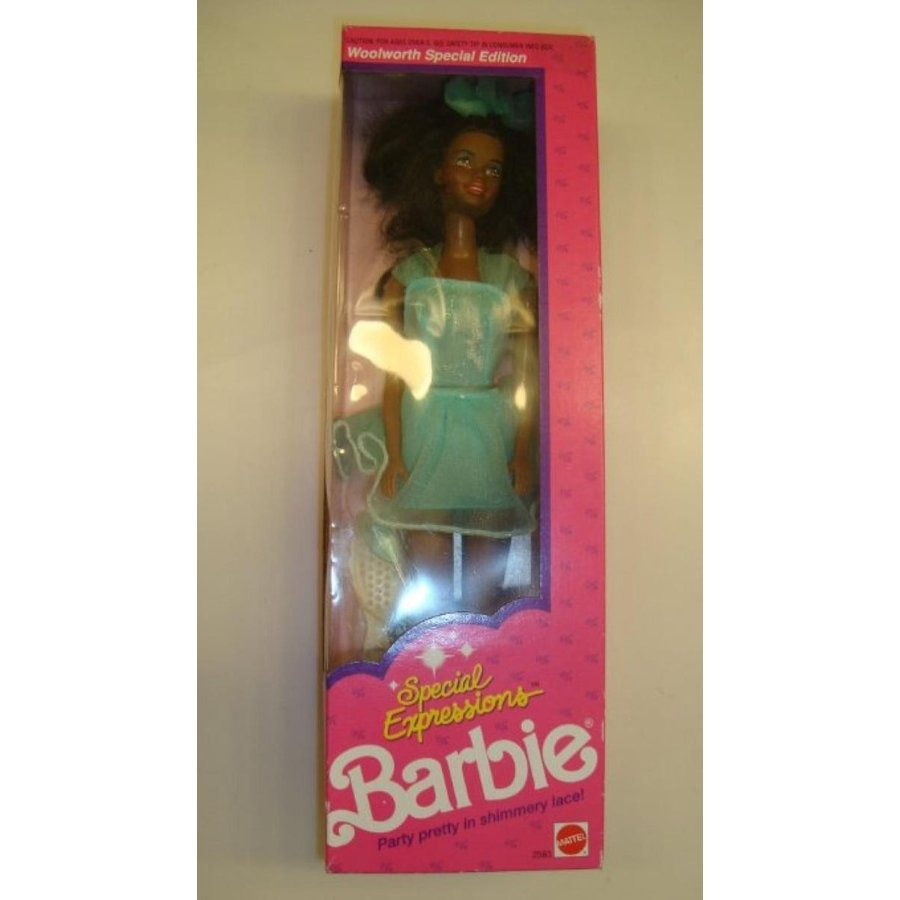 バービー人形 着せ替え おもちゃ Barbie Special Expressions African American Doll 2583 (1991) 輸入品