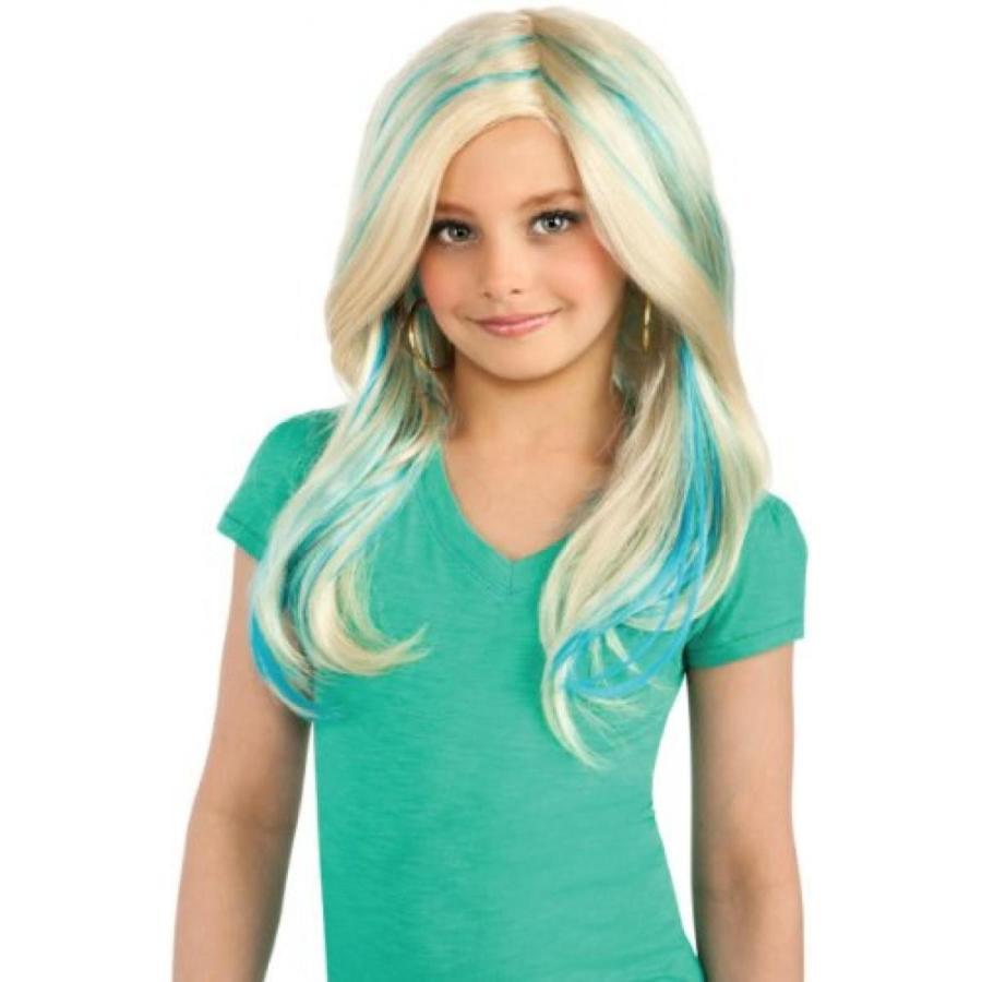 バービー人形 着せ替え おもちゃ Girls Bratz Cloe Rocks Wig - Child Std. 輸入品
