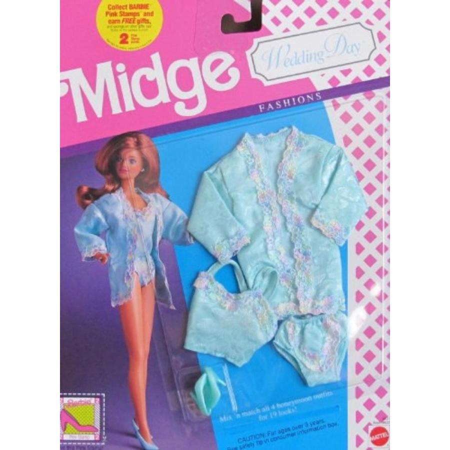 バービー人形 着せ替え おもちゃ Barbie MIDGE WEDDING DAY FASHIONS Honeymoon SLEEPWEAR Outfit ((1990) 輸入品