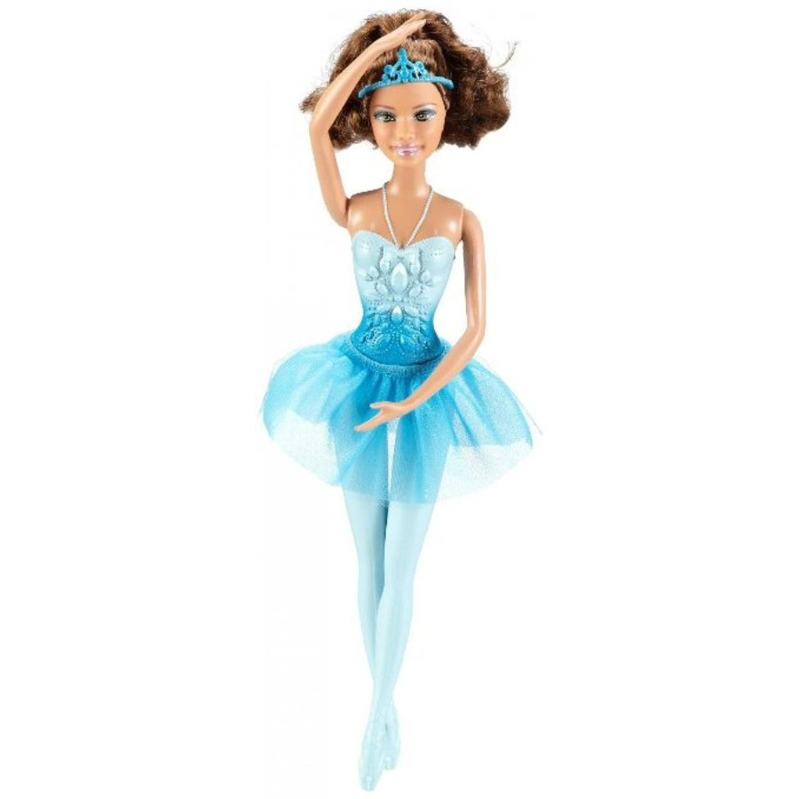 バービー人形 着せ替え おもちゃ Barbie Ballerina Brunette Theresa 青 輸入品