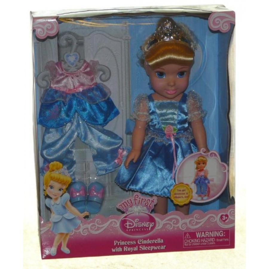 バービー人形 おもちゃ 着せ替え My First Disney Princess: Cinderella with Royal Sleepwear 輸入品