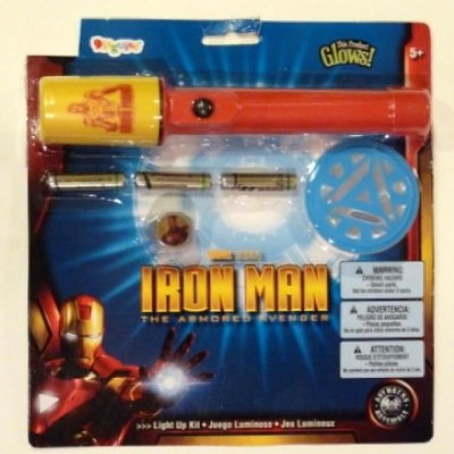 アベンジャーズ おもちゃ フィギュア Iron Man Accessory Kit Armo赤 Avenger Flashlight Badge & Ring 輸入品