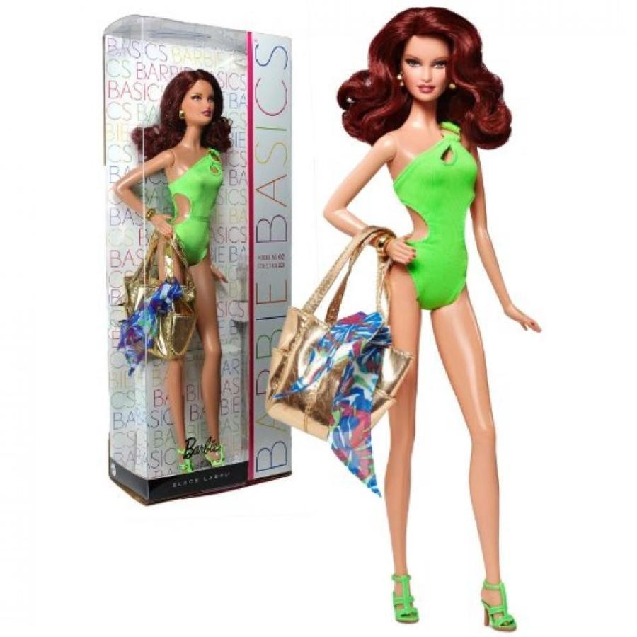 バービー人形 おもちゃ 着せ替え Barbie Basics Model #02 Collection #003 輸入品