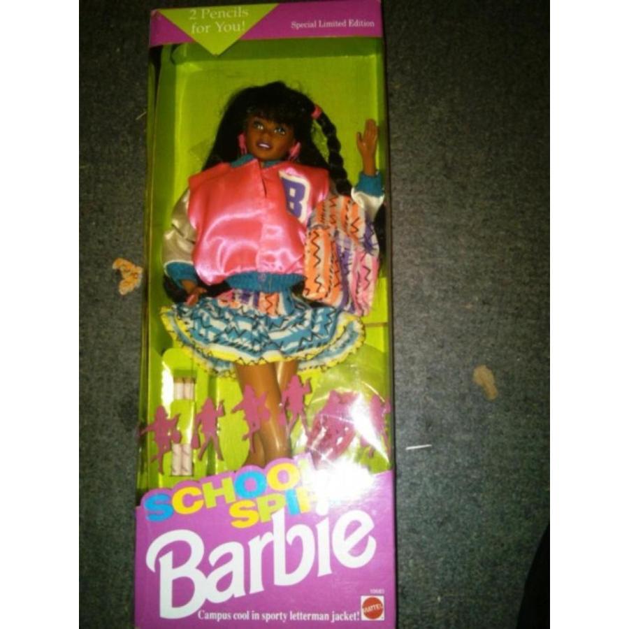 バービー人形 着せ替え おもちゃ School Spirit Barbie 輸入品