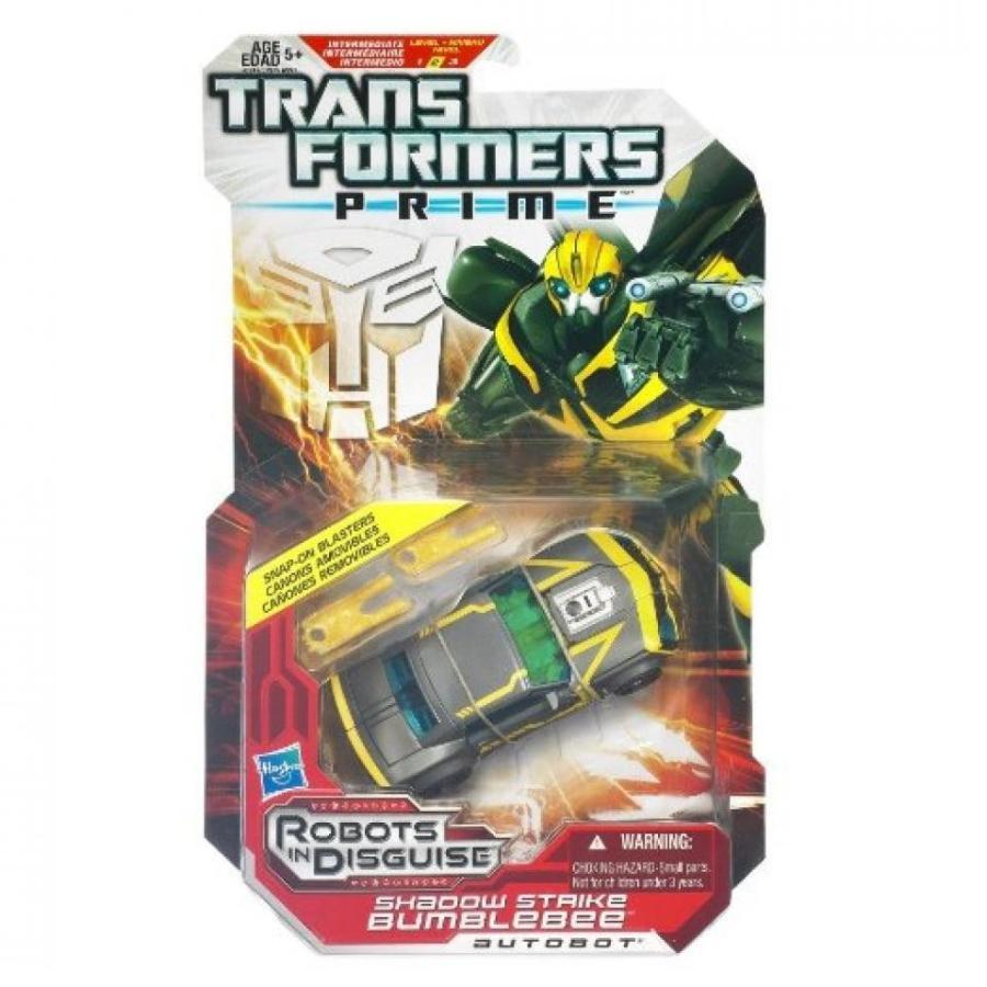 トランスフォーマー おもちゃ 変形 合体ロボ TRANSFORMERS Prime - Shadow Strike Bumblebee 輸入品
