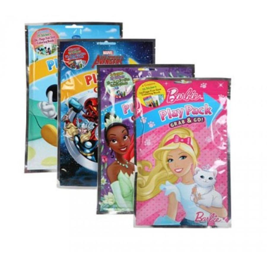 アナと雪の女王 おもちゃ フィギュア DISNEY GRAB-N-GO Playpacks Box Pack 24 輸入品