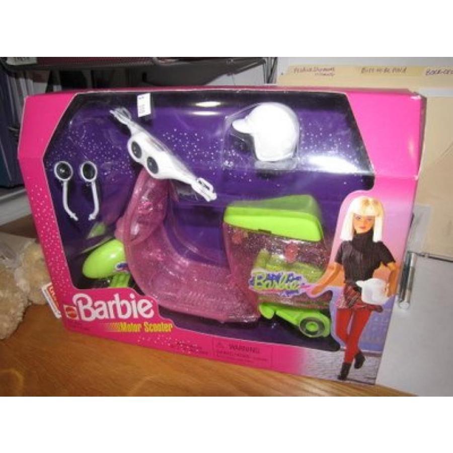 バービー人形 着せ替え おもちゃ Barbie Motor Scooter 1998 Mint in Box 輸入品