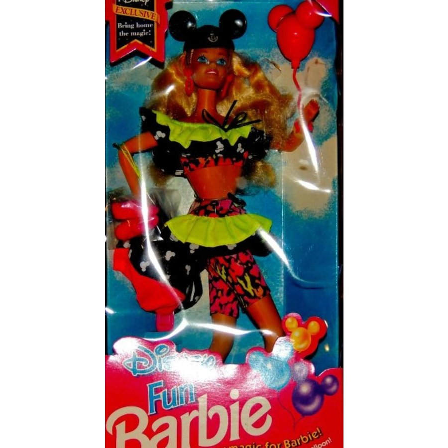 バービー人形 着せ替え おもちゃ Disney Fun Barbie Exclusive Disney 輸入品