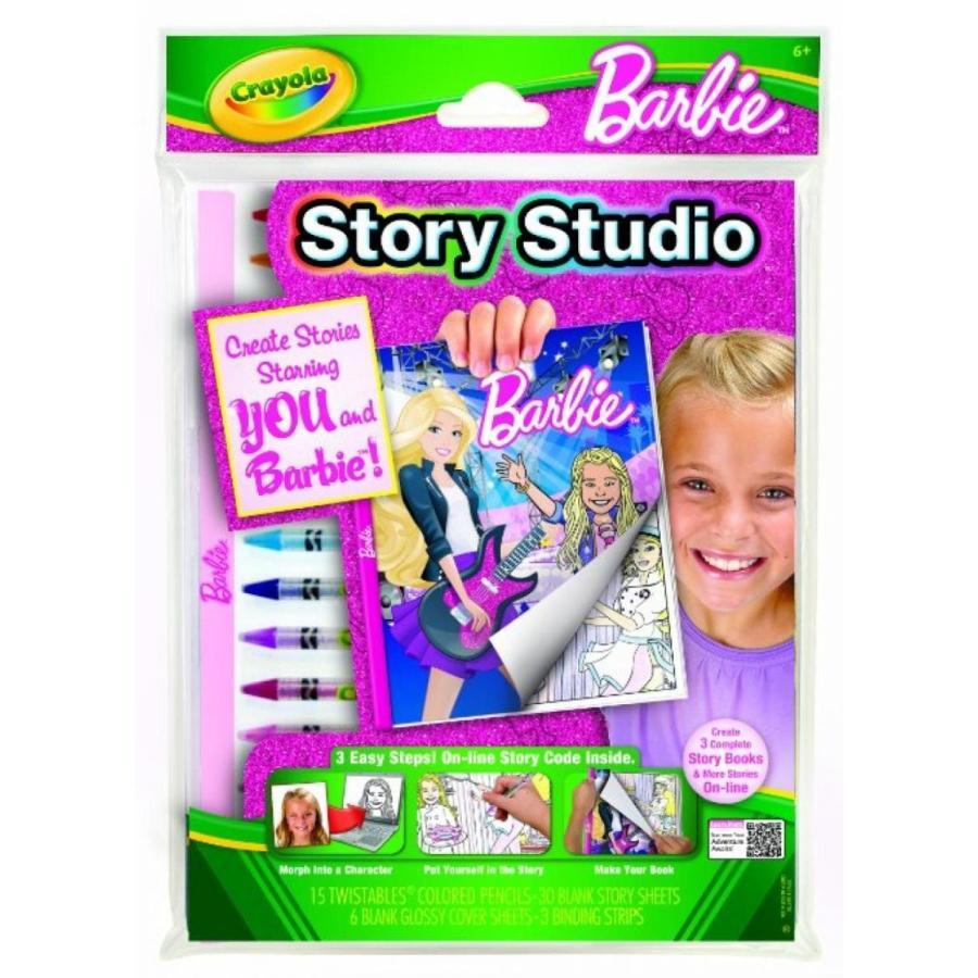 バービー人形 着せ替え おもちゃ Crayola Story Studio Star Barbie 輸入品