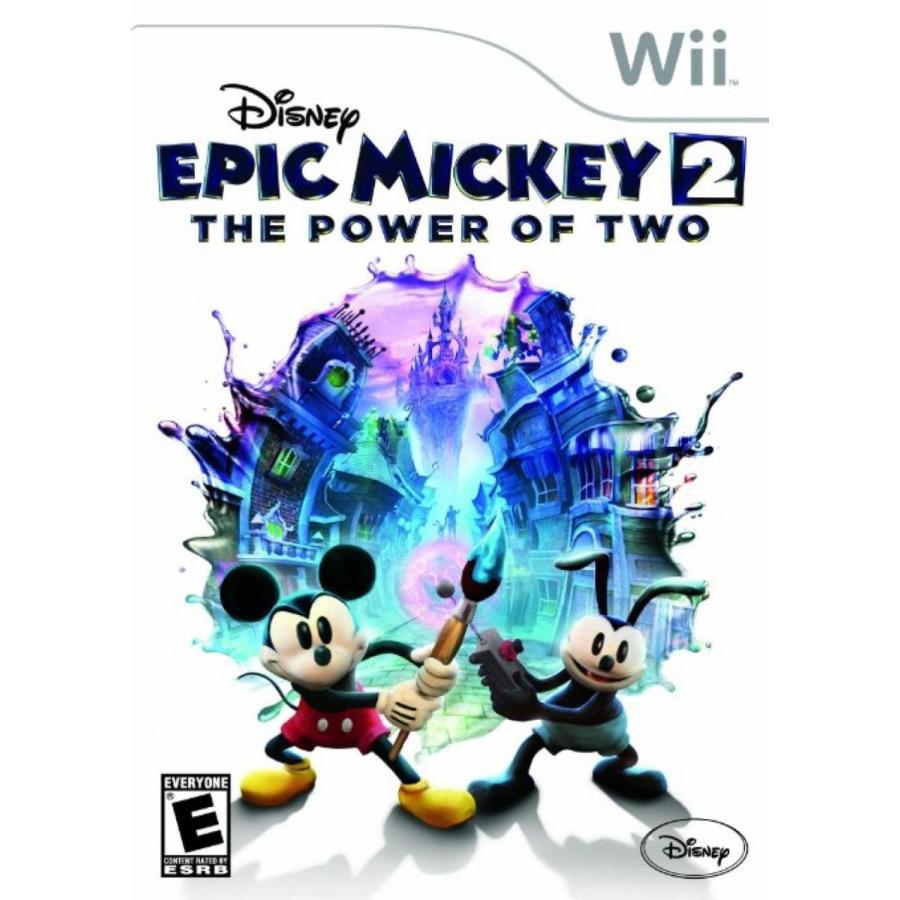 バービー人形 着せ替え おもちゃ Disney Epic Mickey 2: The Power of Two - Nintendo Wii 輸入品