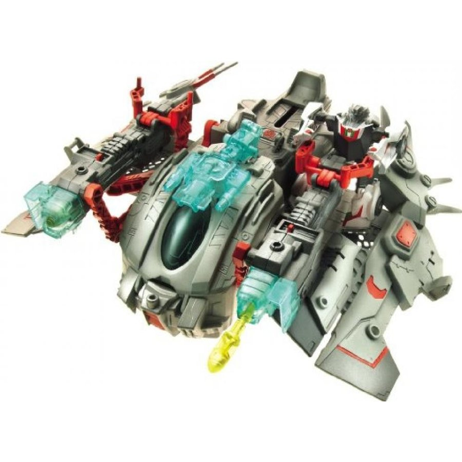 トランスフォーマー おもちゃ 変形 合体ロボ Transformer Prime EZ-10 WheelJack with Space Ship Star Hammer 輸入品