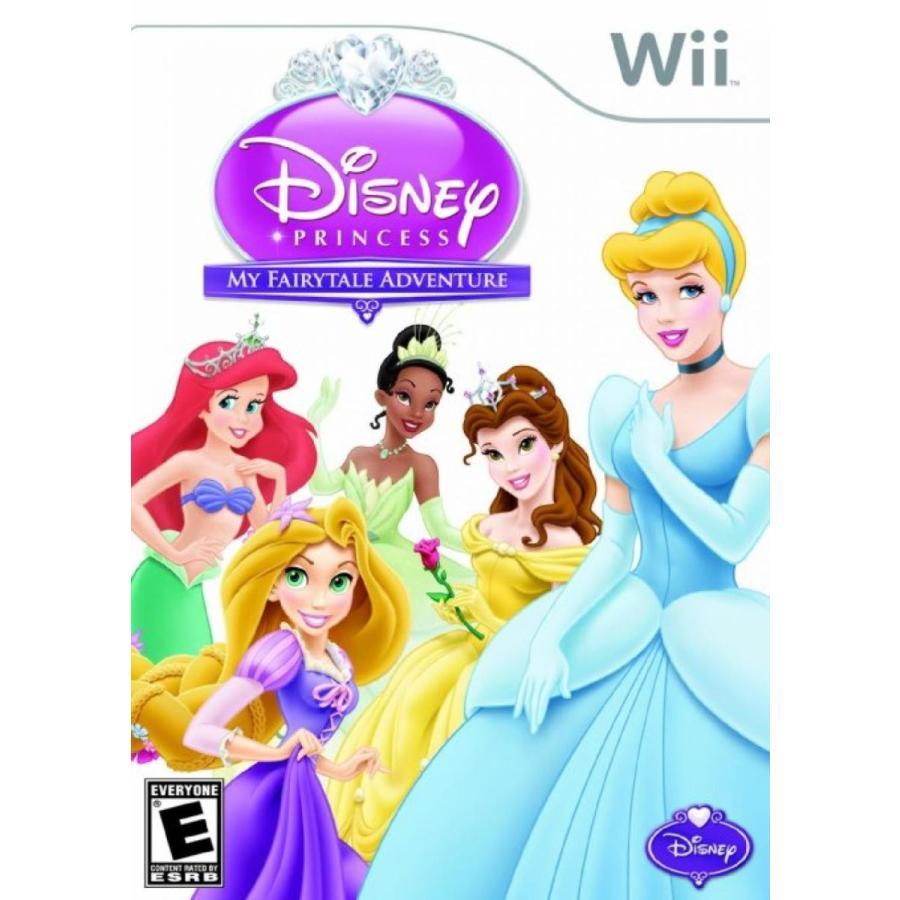 バービー人形 おもちゃ 着せ替え Disney Princess: My FairyTale Adventure - Nintendo Wii 輸入品