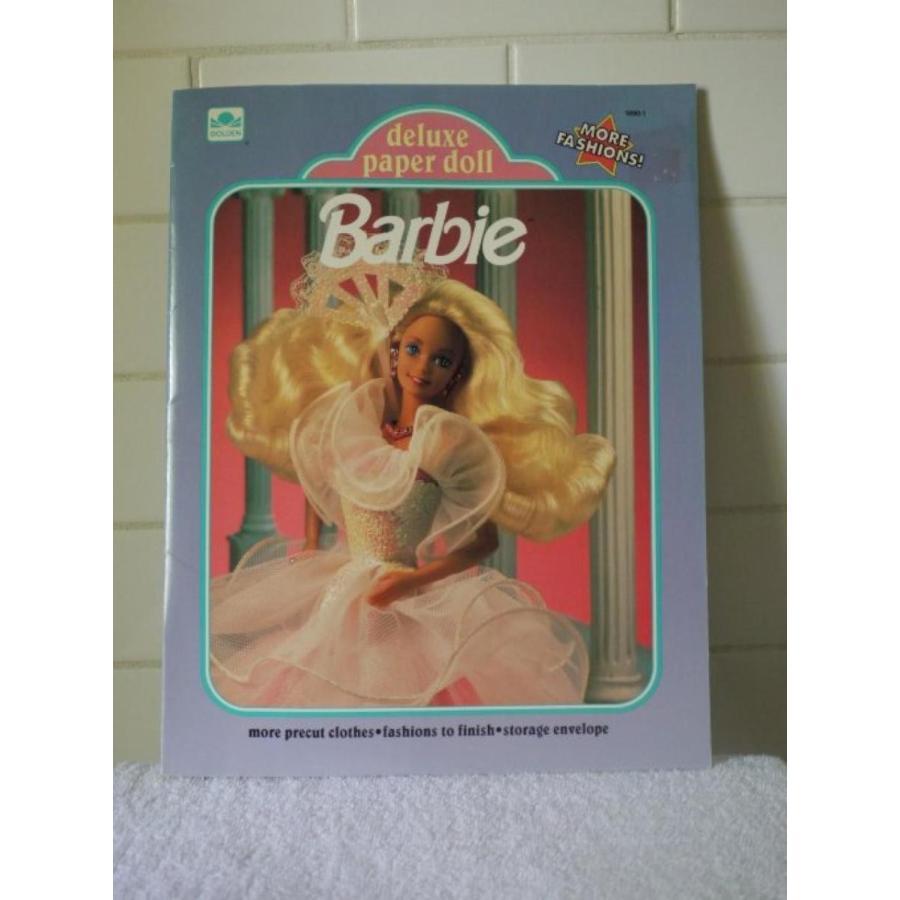 バービー人形 おもちゃ 着せ替え Barbie Deluxe Paper Doll (1991) - 1690-1 輸入品