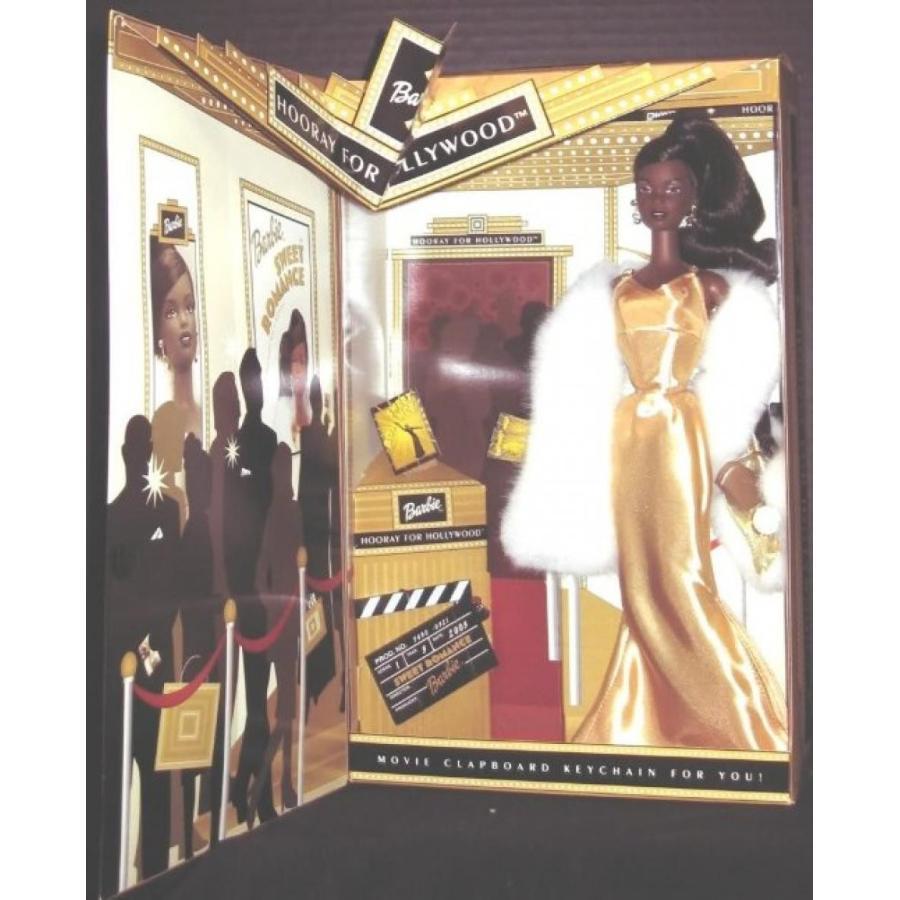 バービー人形 おもちゃ 着せ替え 2002 HOORAY FOR HOLLYWOOD 黒 BARBIE Doll 輸入品