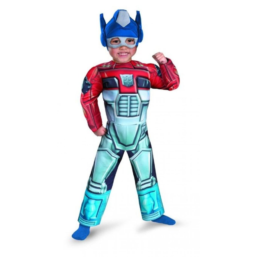 トランスフォーマー おもちゃ 変形 合体ロボ Disguise Optimus Prime Rescue Bot Toddler Muscle Costume 輸入品