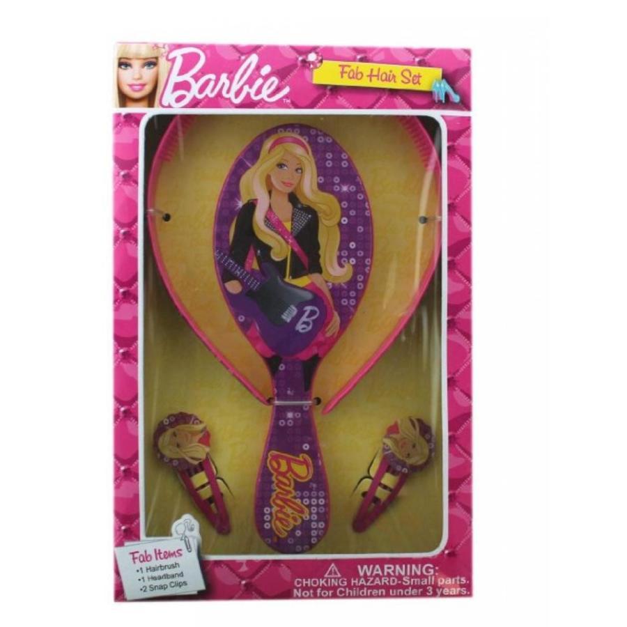 バービー人形 着せ替え おもちゃ 紫の Barbie Hair Care Set - Barbie Hair Brush 輸入品