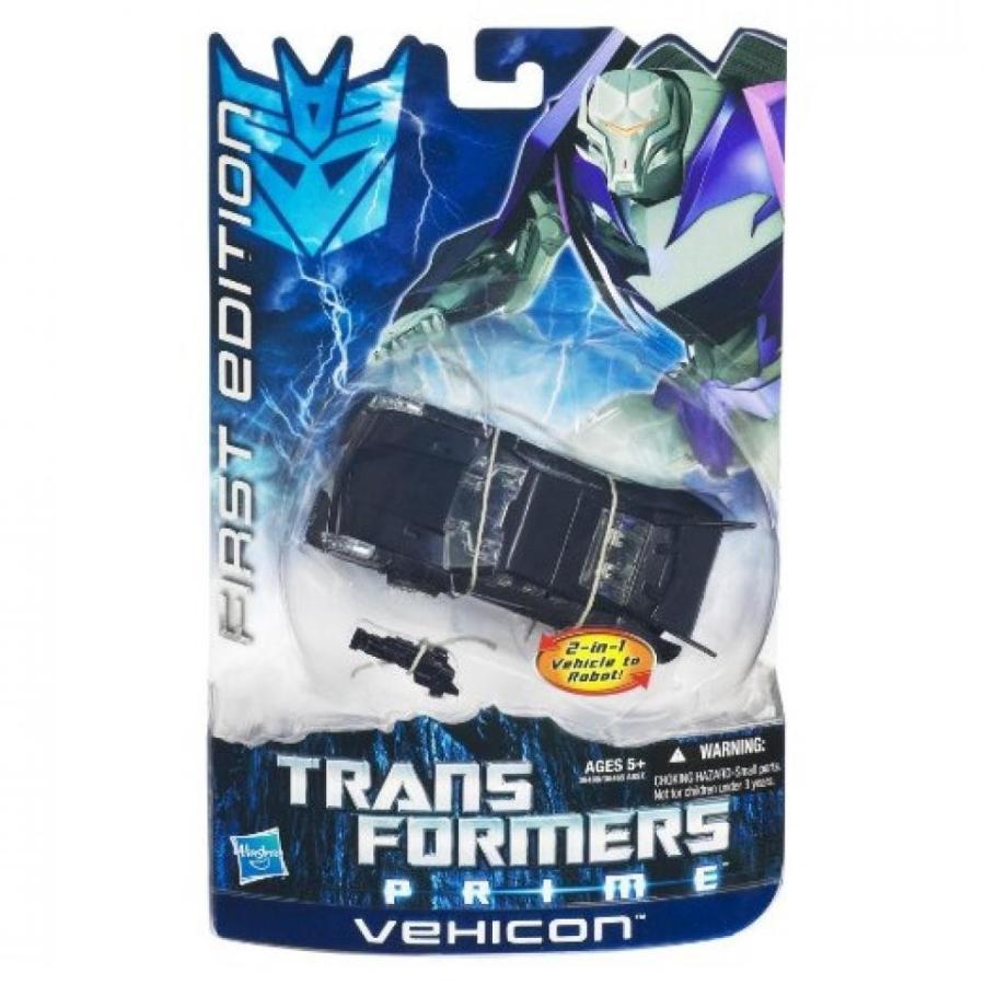 トランスフォーマー おもちゃ 変形 合体ロボ Transformers Prime First Edition Deluxe Action Figure Vehicon 輸入品