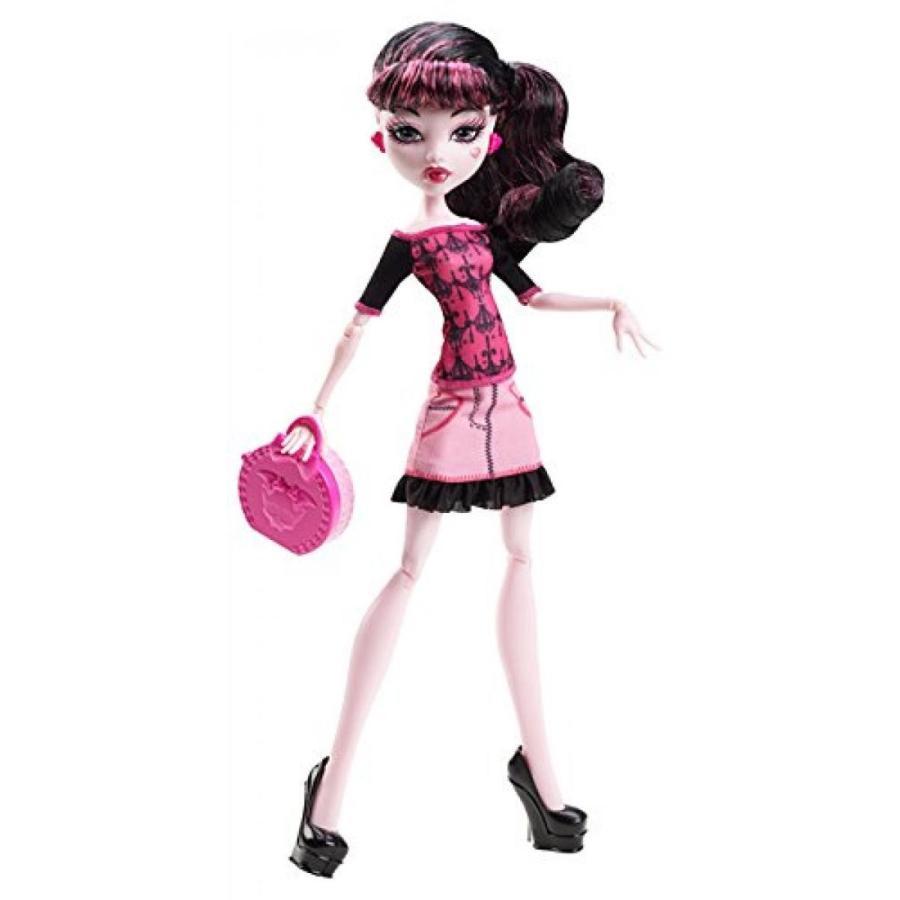 バービー人形 着せ替え おもちゃ Monster High Basic Travel Draculaura Doll 輸入品