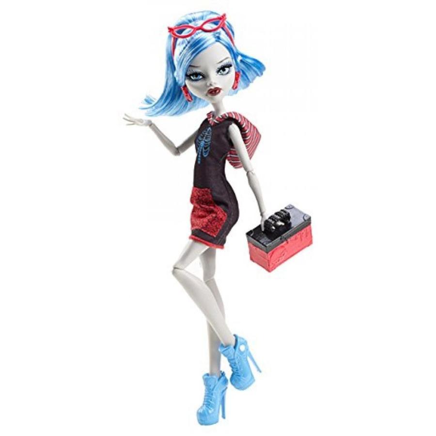 バービー人形 着せ替え おもちゃ Monster High Basic Travel Ghoulia Yelps Doll 輸入品