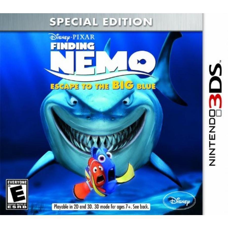 バービー人形 着せ替え おもちゃ Finding Nemo: Escape to the Big 青 Special Edition - Nintendo 3DS 輸入品