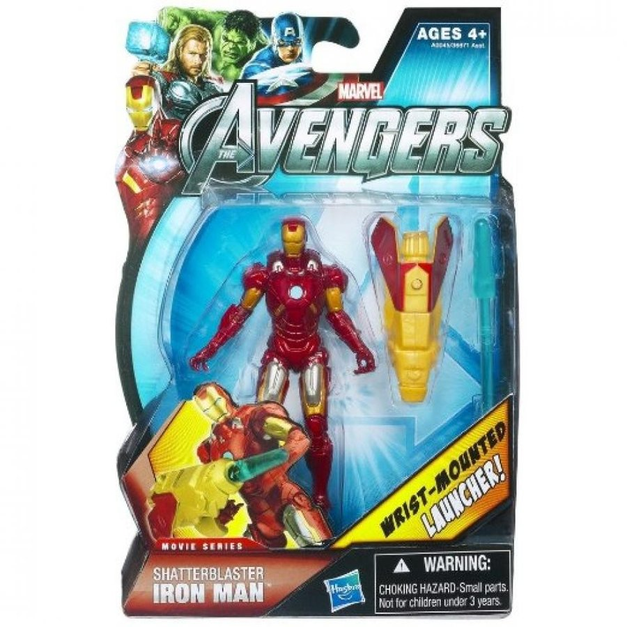 アベンジャーズ おもちゃ フィギュア Marvel Avengers Movie 4 Inch Action Figure Shatterblaste