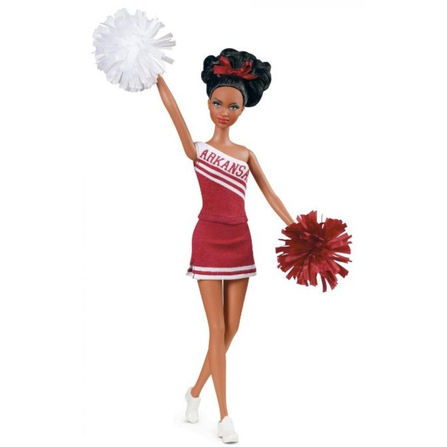 バービー人形 着せ替え おもちゃ Barbie Collector University of Arkansas African-American Doll 輸入品