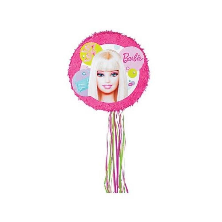 バービー人形 着せ替え おもちゃ Barbie Round Pull 2 Expand Pinata 輸入品