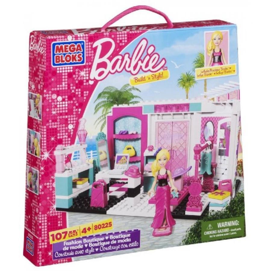 バービー人形 着せ替え おもちゃ Mega Bloks Barbie Fashion Boutique 輸入品