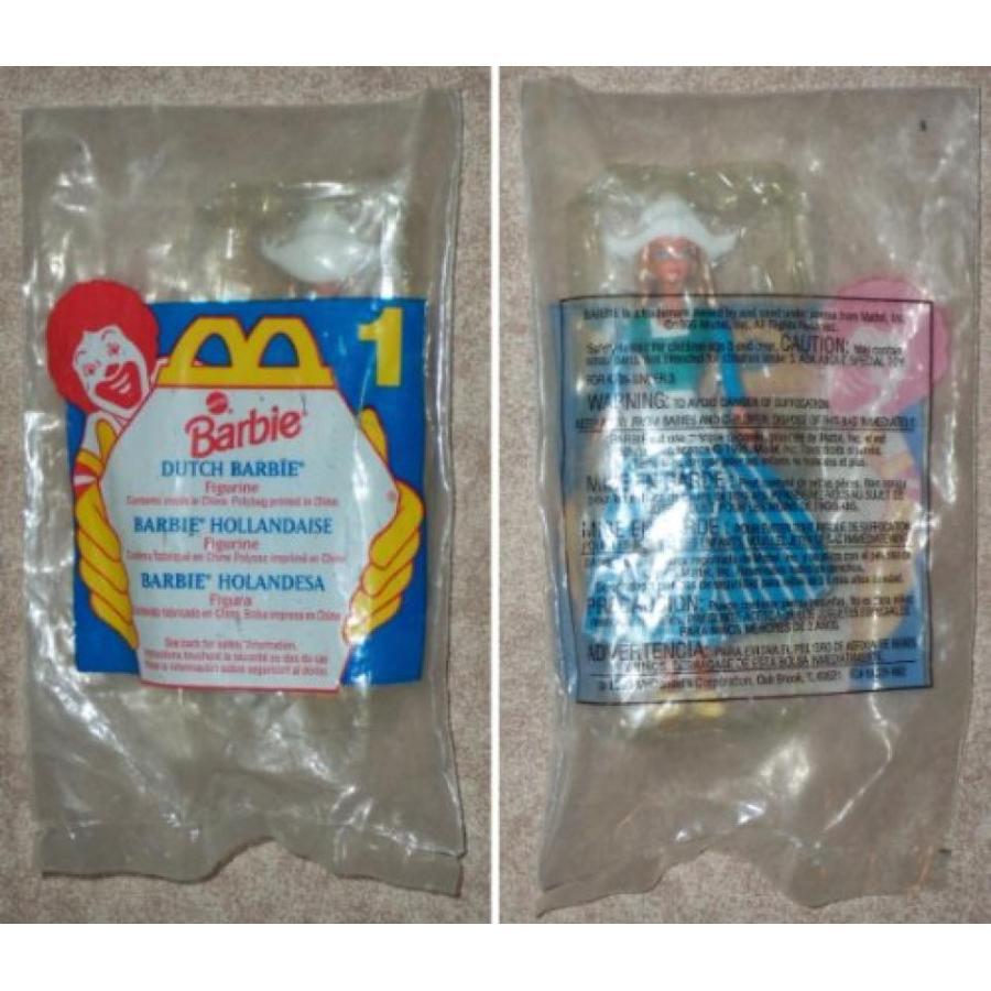 バービー人形 着せ替え おもちゃ McDonalds - BARBIE #1 - Dutch Barbie - 1995 輸入品