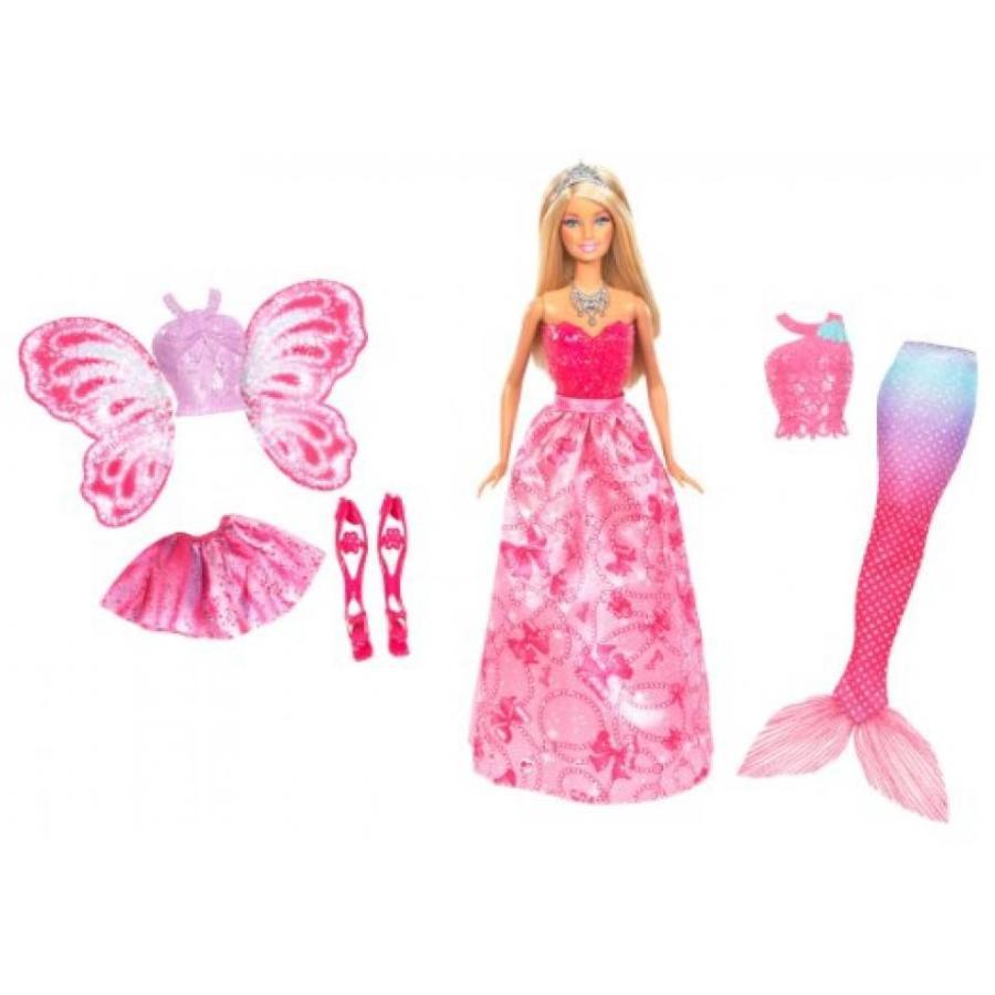 バービー人形 着せ替え おもちゃ Barbie Fairytale Royal Dress Up Doll 輸入品