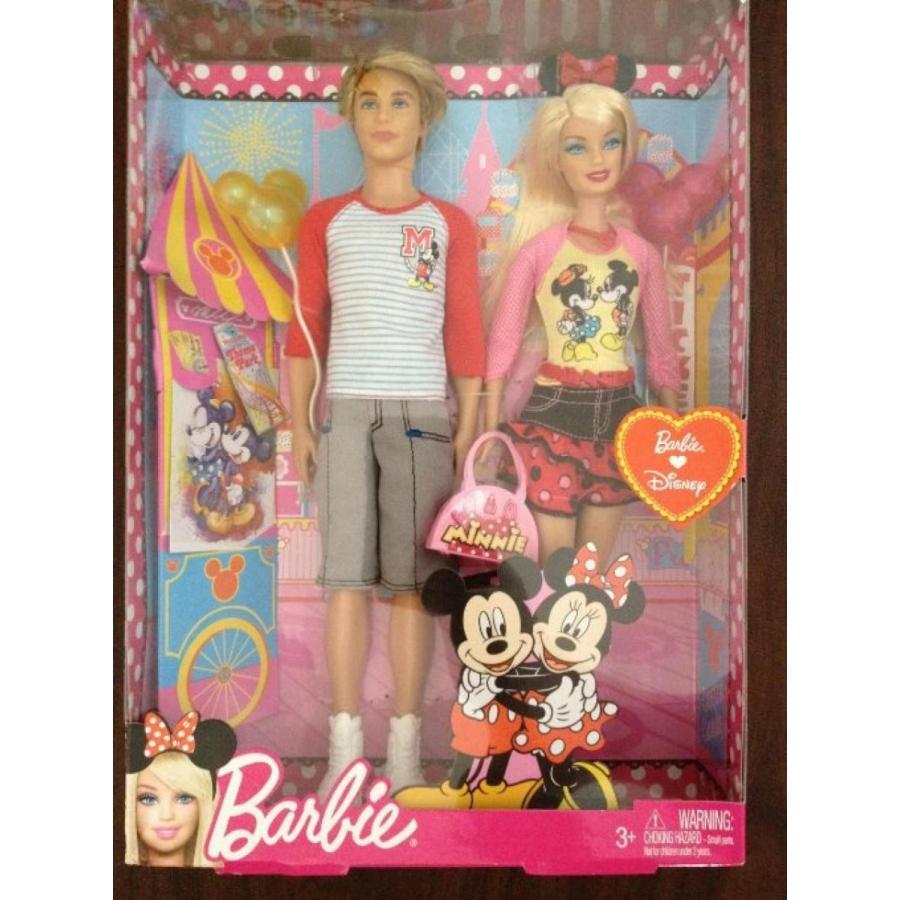 バービー人形 おもちゃ 着せ替え Ken and Barbie Going to Disney 輸入品