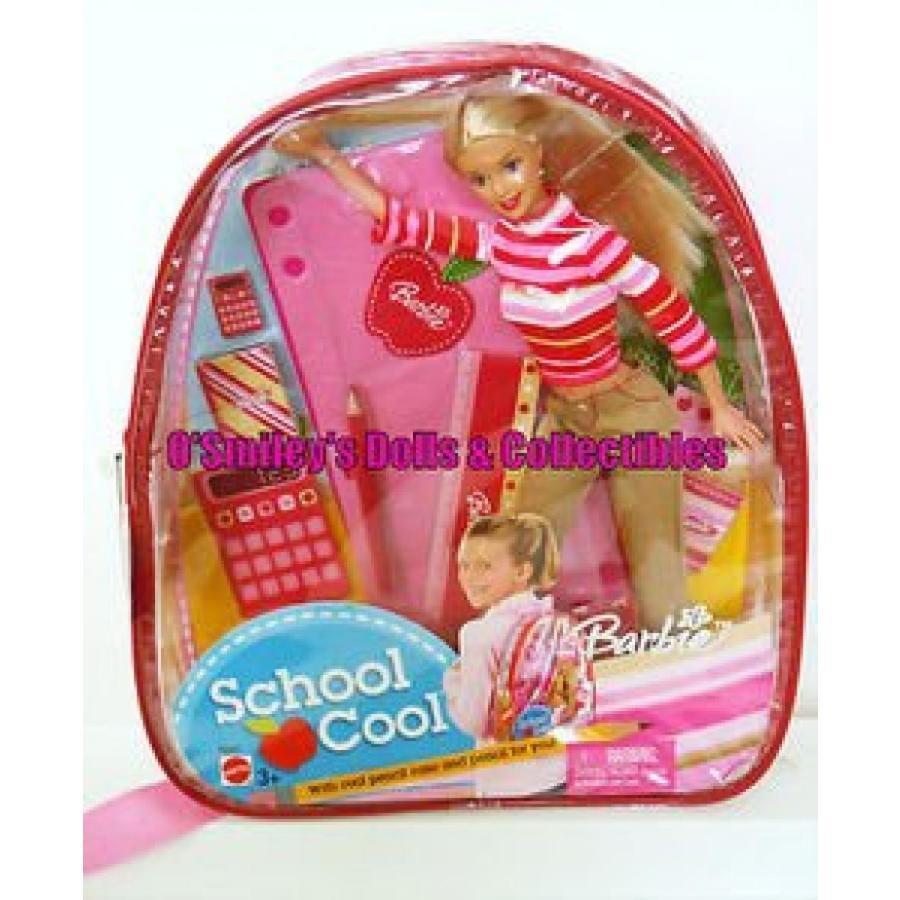 バービー人形 おもちゃ 着せ替え Barbie School Cool Backpack 輸入品