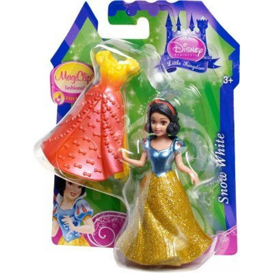 アナと雪の女王 おもちゃ フィギュア Disney Princess, MagiClip Figure, Snow 白い with 2 Dresses 輸入品