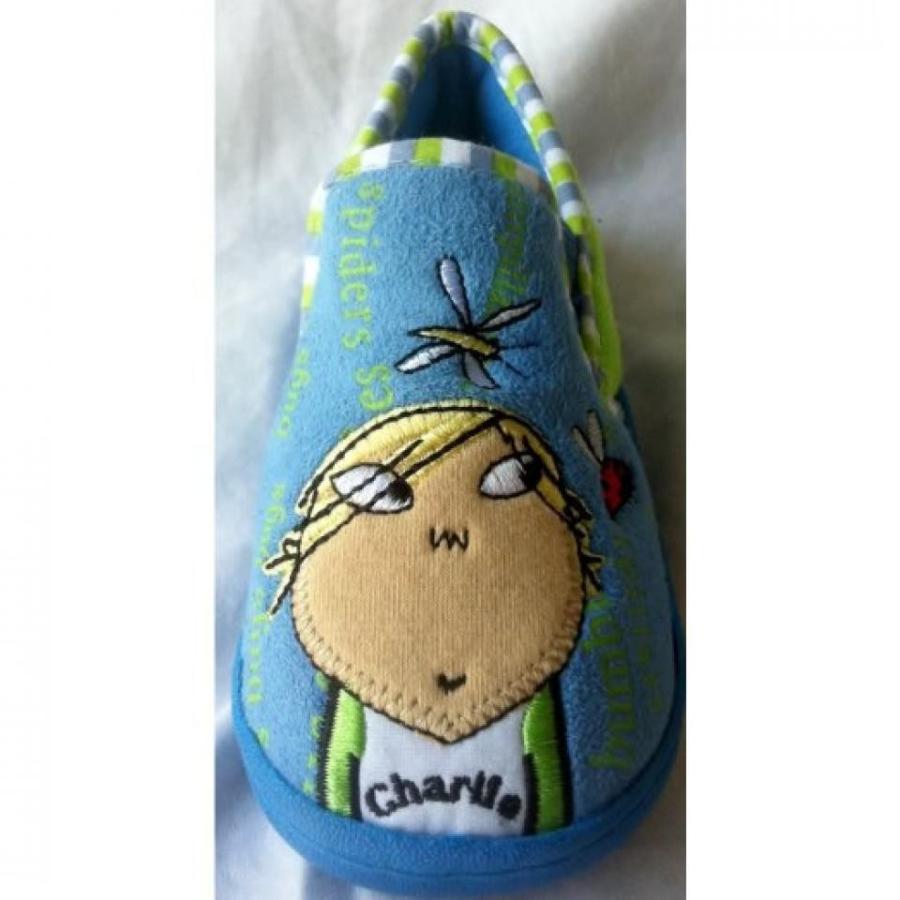 アナと雪の女王 おもちゃ フィギュア Charlie and Lola, Charlie Rubber Sole Shoes, Kids Shoe Size 6 Halloween Costume 輸入品