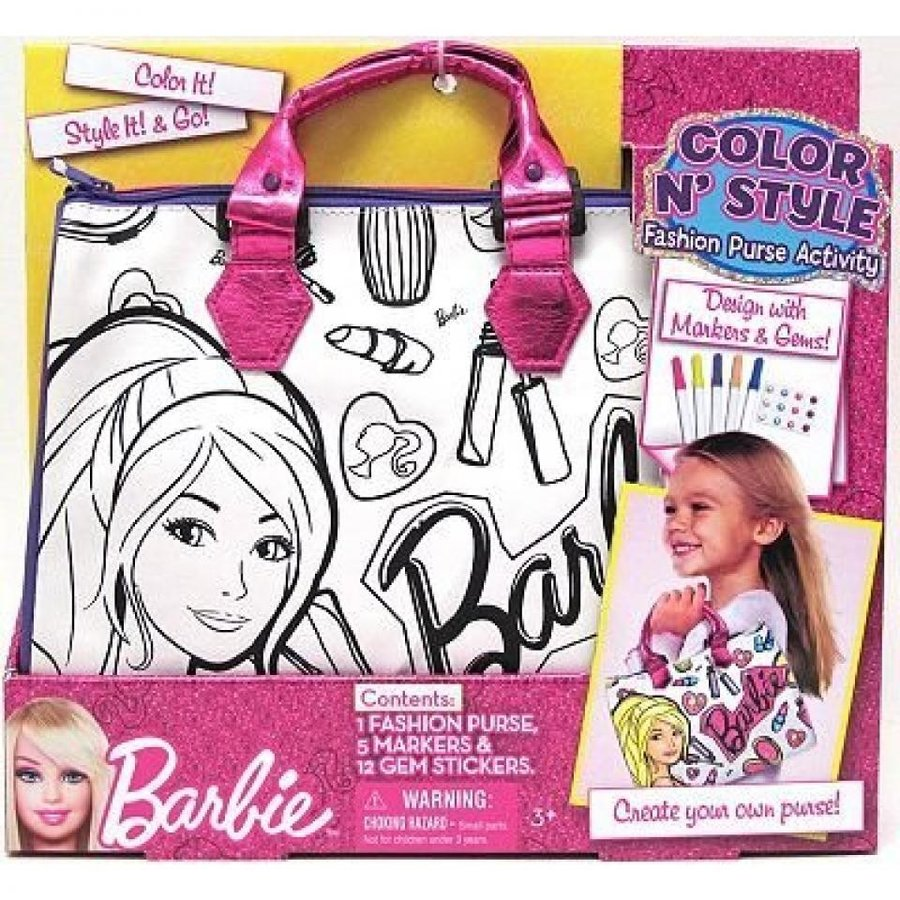 バービー人形 おもちゃ 着せ替え Barbie Color N' Style Fashion Purse by Tara toy gift idea birthday 輸入品