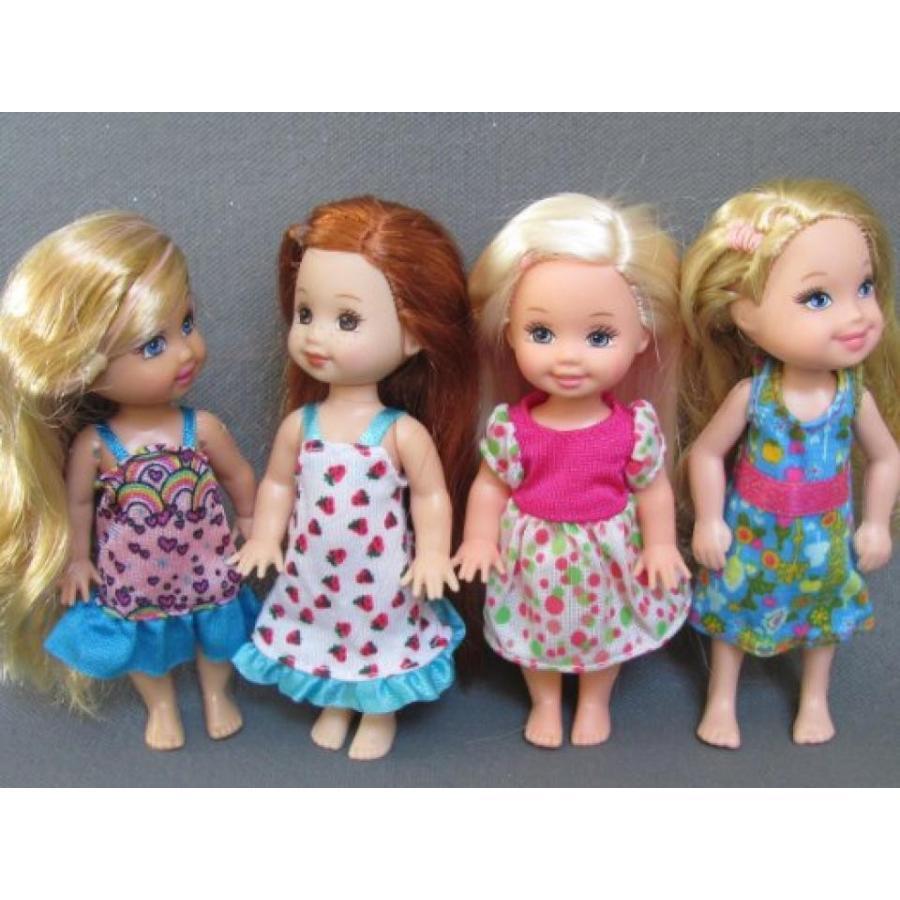 バービー人形 着せ替え おもちゃ Barbie' S Sister Kelly Doll Clothes : 4 Sets Fit Kelly Dolls B (no dolls) 輸入品