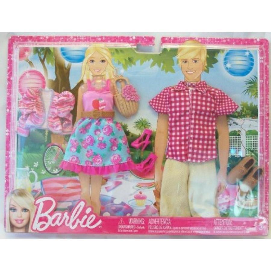 バービー人形 おもちゃ 着せ替え Barbie Ken Fahionistas Summer Picnic Date Fashion Pack 輸入品