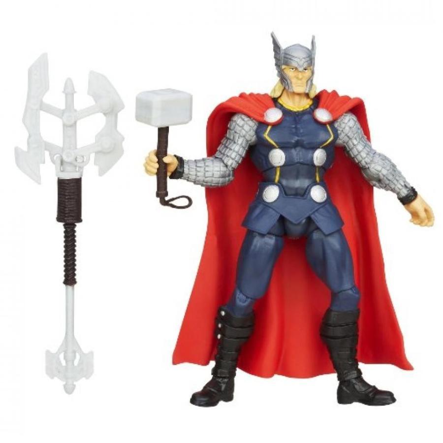アベンジャーズ おもちゃ フィギュア Marvel Avengers Assemble Thunder Axe Thor Figure 輸入品