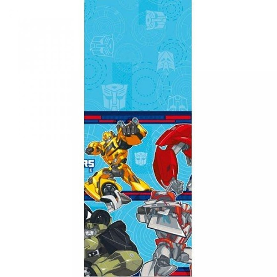 トランスフォーマー おもちゃ 変形 合体ロボ Transformers Prime Plastic Tablecover (1ct) 輸入品