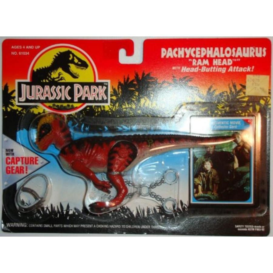 ジュラシックワールド おもちゃ フィギュア 恐竜 JURASSIC PARK Pachycephalosaurus (Ram Head) with H