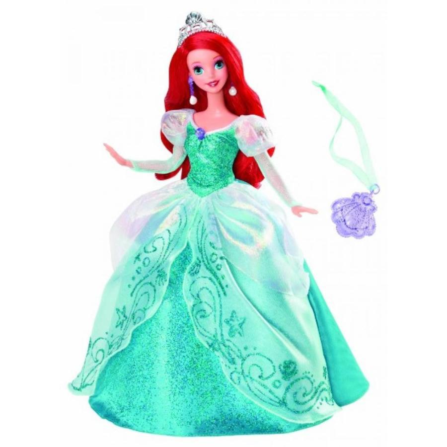 バービー人形 おもちゃ 着せ替え Disney Princess Holiday Princess Ariel Doll 輸入品