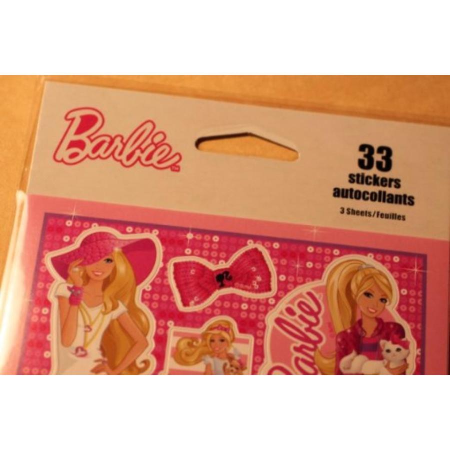 バービー人形 着せ替え おもちゃ Barbie 33 Stickers 輸入品