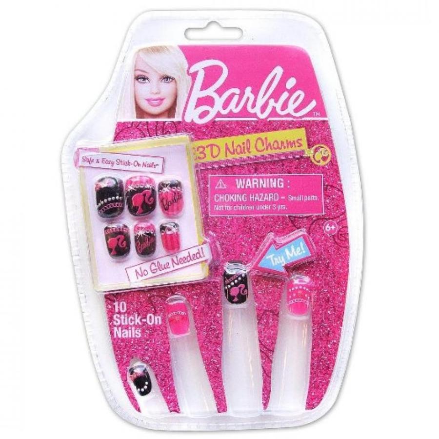 バービー人形 着せ替え おもちゃ Barbie 3D Nail Set - Barbie Gems 輸入品