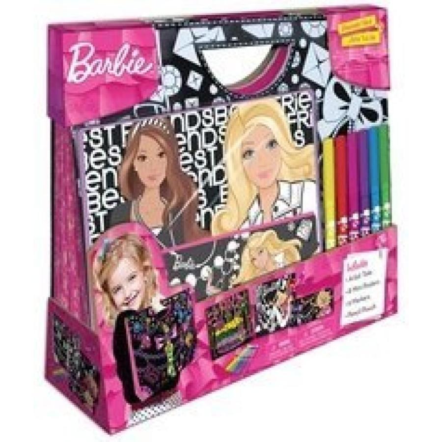 バービー人形 着せ替え おもちゃ Fashion Angels Barbie Glamtastic Velvet Artist Tote Set 輸入品
