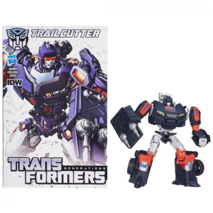 トランスフォーマー おもちゃ 変形 合体ロボ Transformers Generations Deluxe Class Trailcutter Action Figure 輸入品
