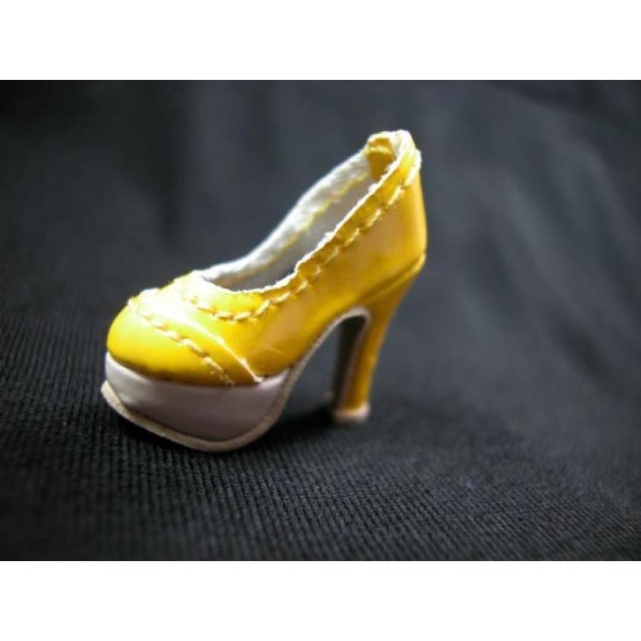 バービー人形 着せ替え おもちゃ Barbie Miniature Shoes Fashion Royalty Girl Blythe Doll Pu