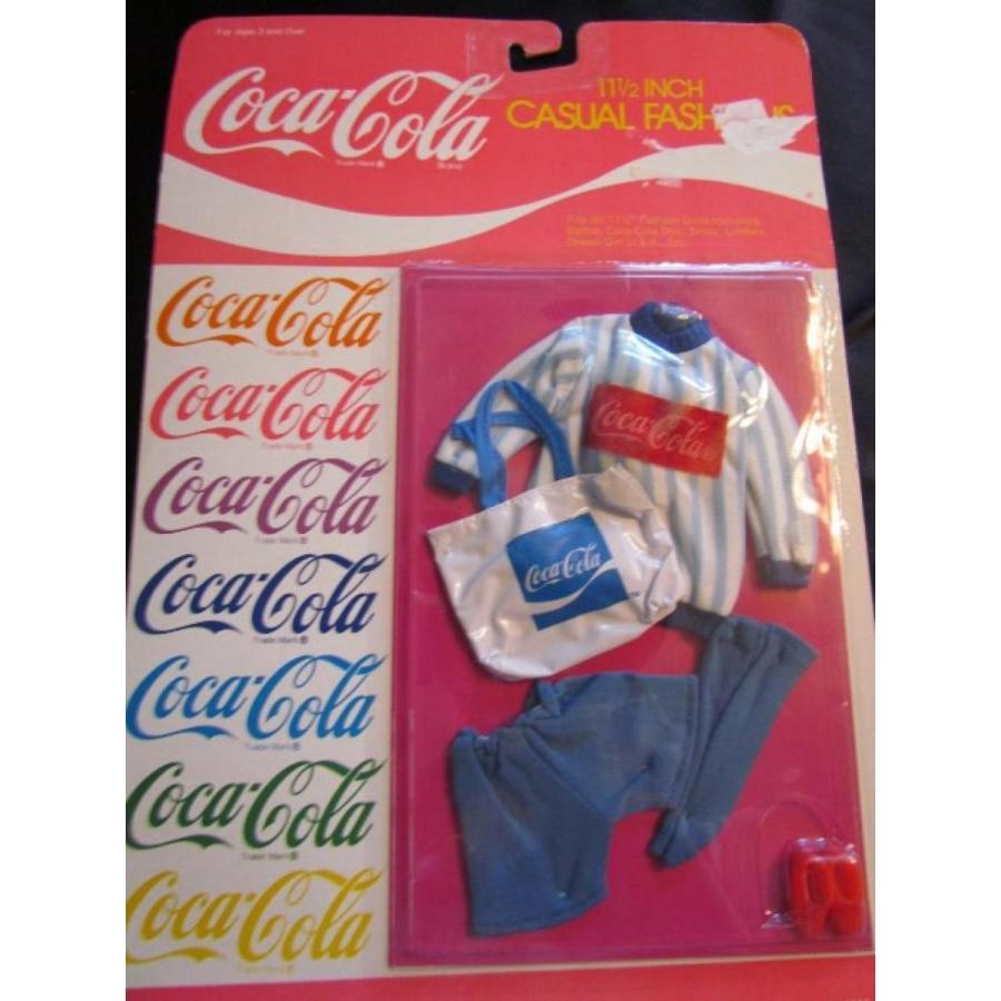 バービー人形 おもちゃ 着せ替え 青 Coca Cola aerobic outfit for barbie type doll 輸入品