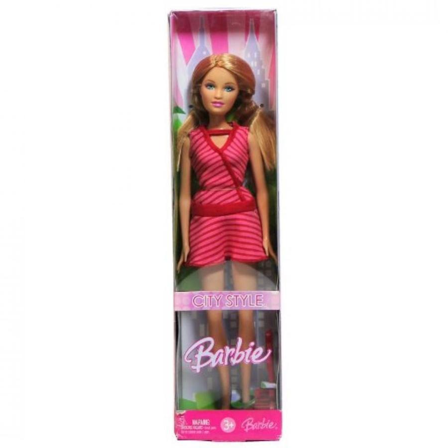 バービー人形 おもちゃ 着せ替え Mattel Year 2006 Barbie CITY STYLE Series 12 Inch Doll - S