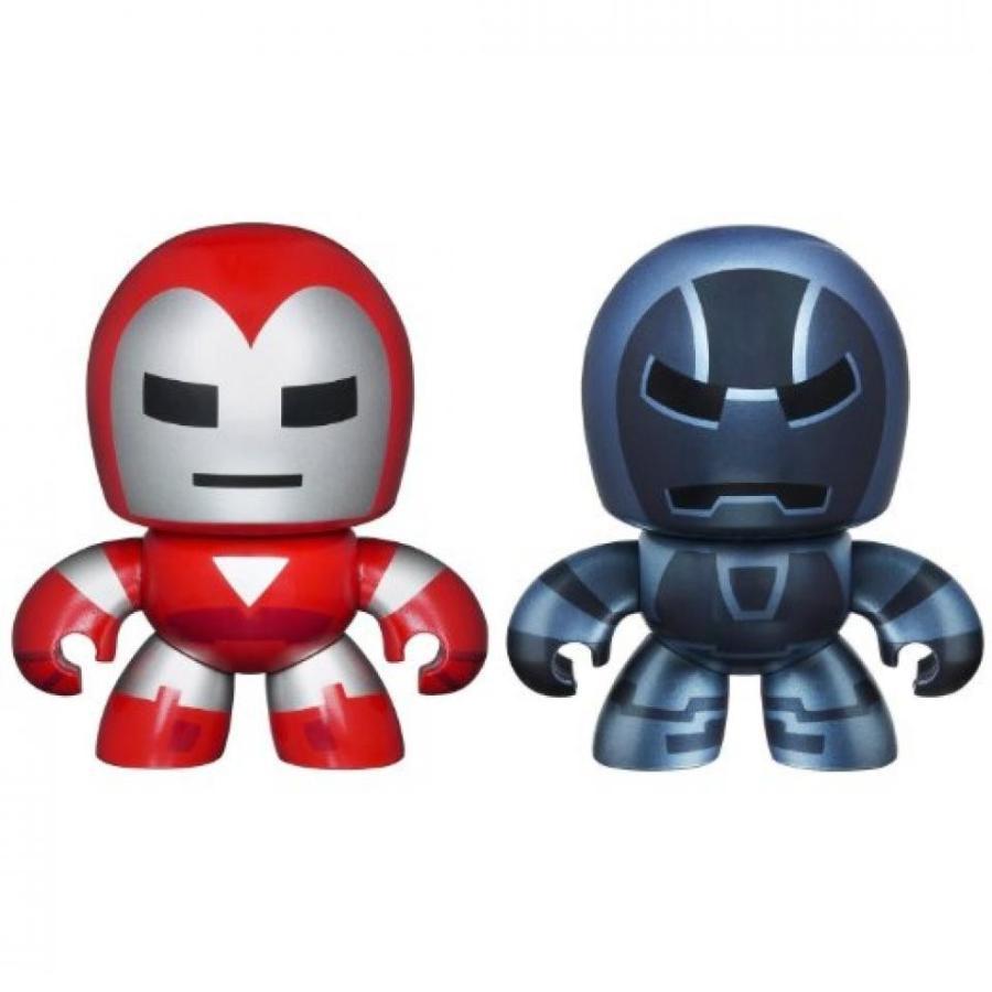 アベンジャーズ おもちゃ フィギュア The Avengers 銀 Centurion & Iron Monger -2 New Mini Mighty Muggs Figures 輸入品