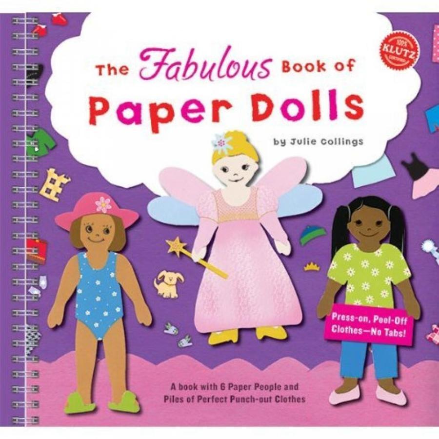 バービー人形 着せ替え おもちゃ Paper Dolls (Klutz) 輸入品